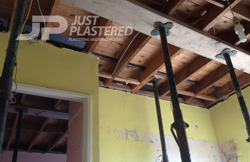 Plasterers in Bristol, Alterations in your home, Knock through before plastering, plaster boarding