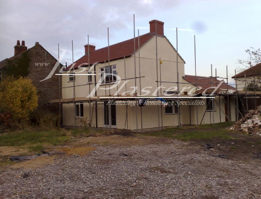 Plasterers in Bristol, Rough cast render, sand and cement render bristol, exterior rendering